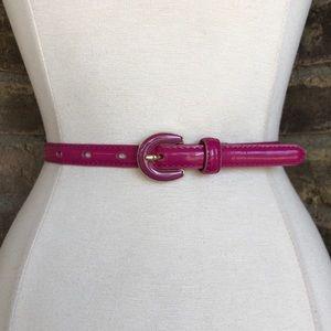 Banana Republic Belt M Patent Leather Skinny
